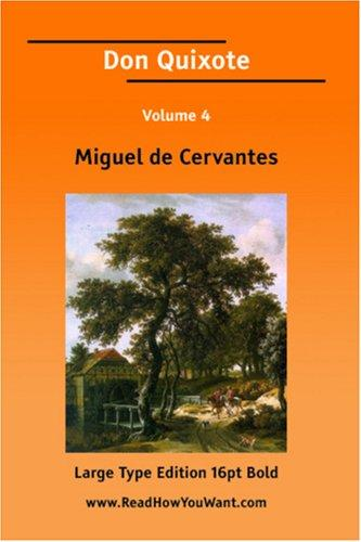 Download Don Quixote Volume 4 (Large Print)