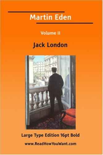 Download Martin Eden Volume II (Large Print)