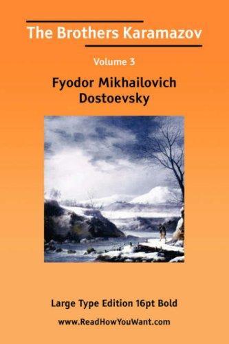 Download The Brothers Karamazov Volume 3 (Large Print)