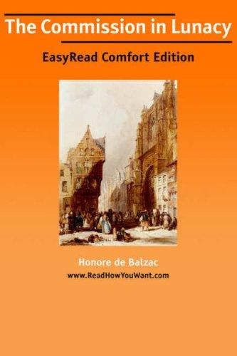 Download The Commission in Lunacy EasyRead Comfort Edition