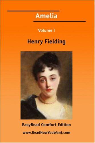 Amelia Volume I EasyRead Comfort Edition
