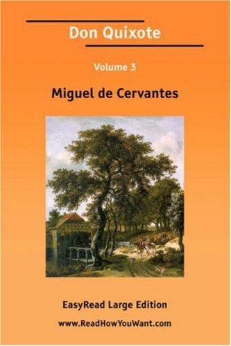 Download Don Quixote Volume 3 EasyRead Large Edition