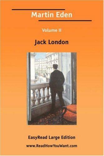 Download Martin Eden Volume II EasyRead Large Edition
