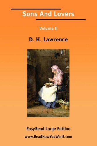 Download Sons And Lovers Volume II EasyRead Large Edition