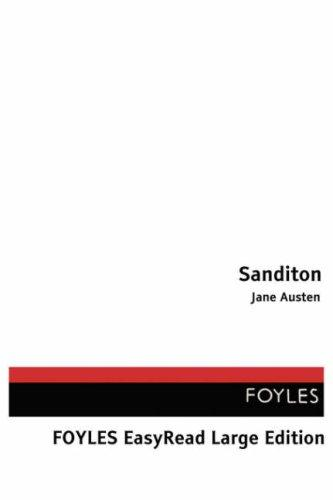 Sanditon EasyRead Large Edition