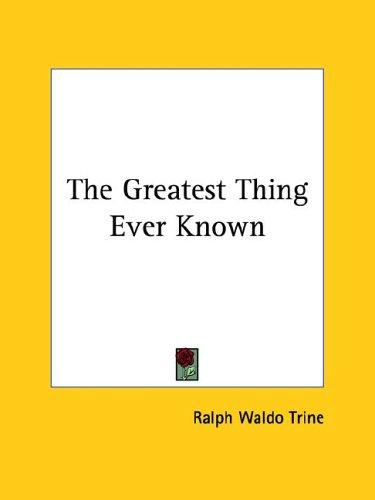Download The Greatest Thing Ever Known