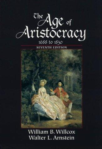 Download The age of aristocracy, 1688-1830