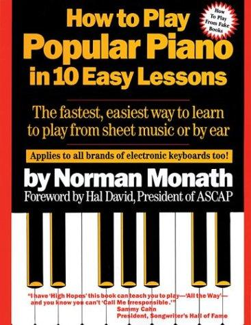 Download How to play popular piano in 10 easy lessons