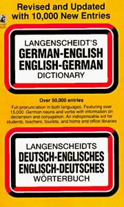 German / English...