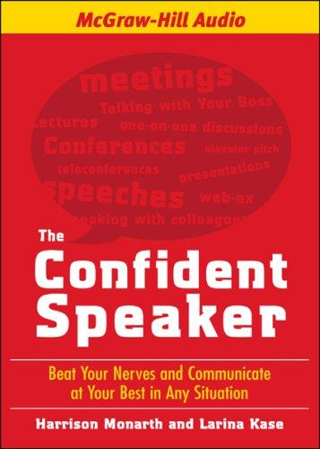 Download The Confident Speaker