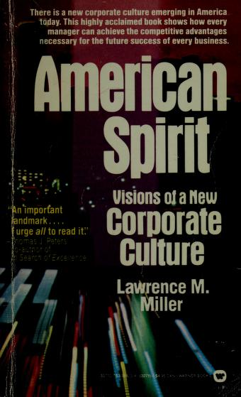 Cover of: American Spirit | Lawrence M. Miller
