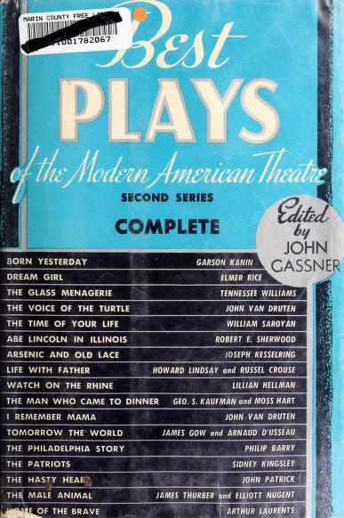 Best Plays Modern American Theater 2n by Crown