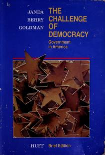 Cover of: The challenge of democracy | Kenneth Janda