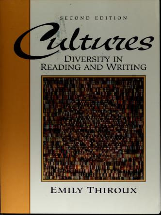 Cover of: Cultures | Emily Thiroux