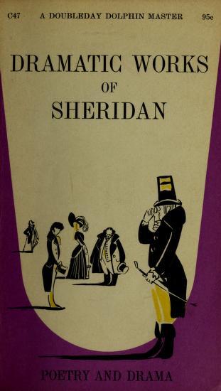Cover of: The dramatic works of Sheridan | Richard Brinsley Sheridan