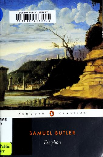 Cover of: Erewhon | Samuel Butler