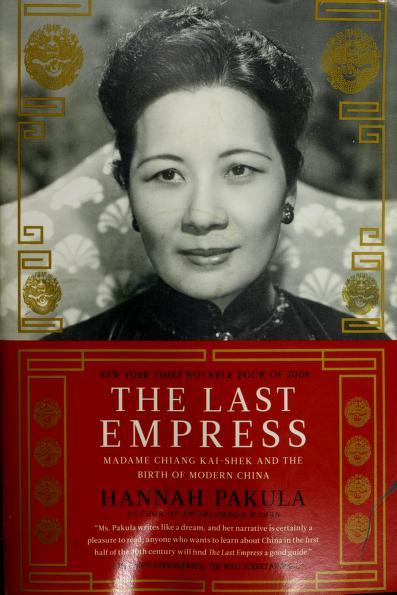 The last empress by Hannah Pakula