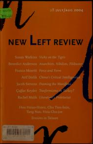 Cover of: New Left review |