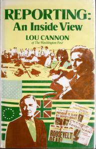Cover of: Reporting   Lou Cannon