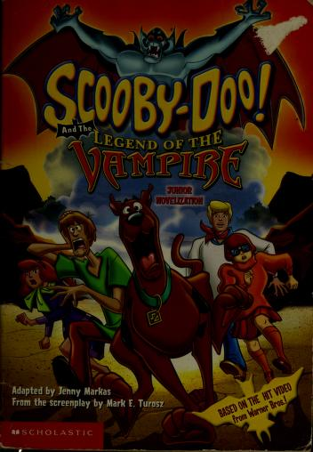 Cover of: Scooby-doo and the legend of the vampire | Jenny Markas