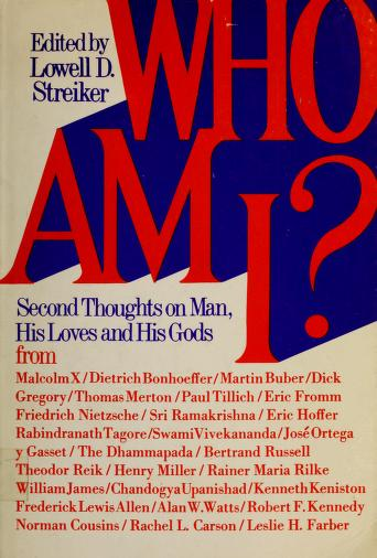 Cover of: Who am I? | Lowell D. Streiker