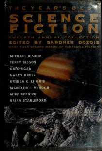 Cover of: The Year's Best Science Fiction by Gardner R. Dozois