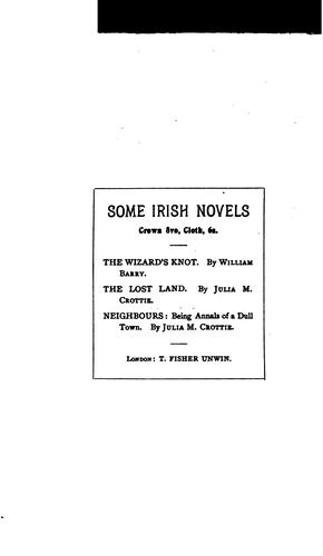 By Beach and Bog-land: Some Irish Stories by Jane Barlow