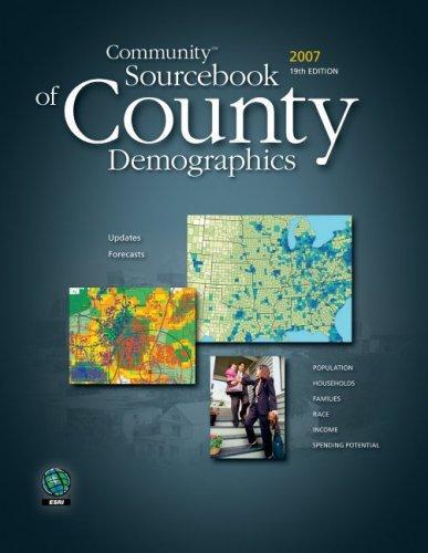 Community Sourcebook of County Demographics