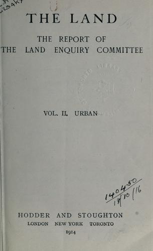 The land by Land Enquiry Committee.
