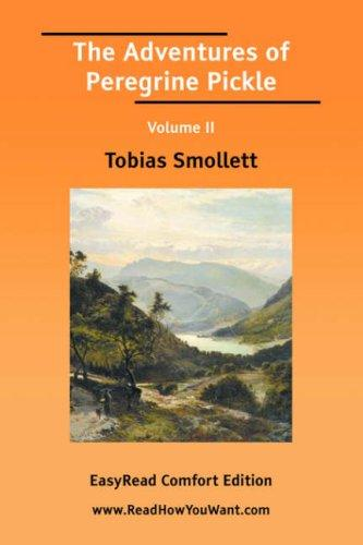 The Adventures of Peregrine Pickle Volume II by Tobias Smollett