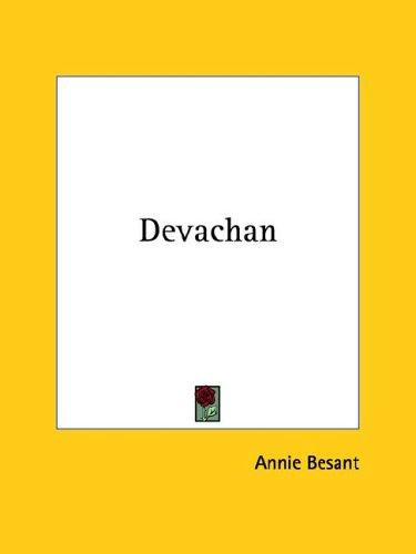 Devachan by Annie Wood Besant