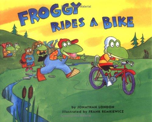 Froggy rides a bike by Jonathan London