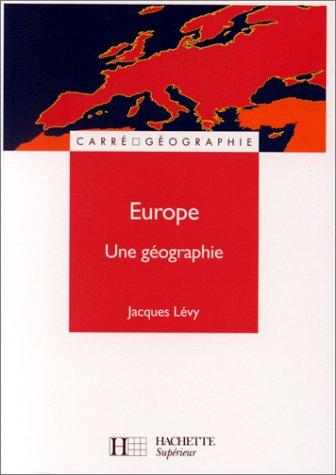 Europe by Jacques Lévy